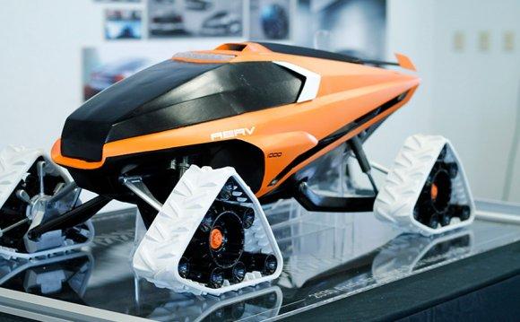Vehicle design by Brett Stoltz