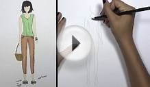 How to Draw Clothes for Beginners Fashion Designing: Loose